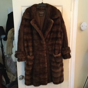 LUXURIOUS MOHL SCAASI FUL LENGTH MINK COAT AMAZING